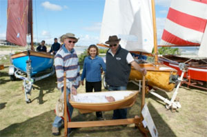 Laura, Phillip (My Dad), Liz (my wife) and me at Mordialloc Wooden Boat Show