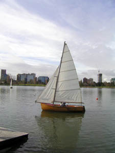 The Wooden Boat Association's rare Prt Phillip 12